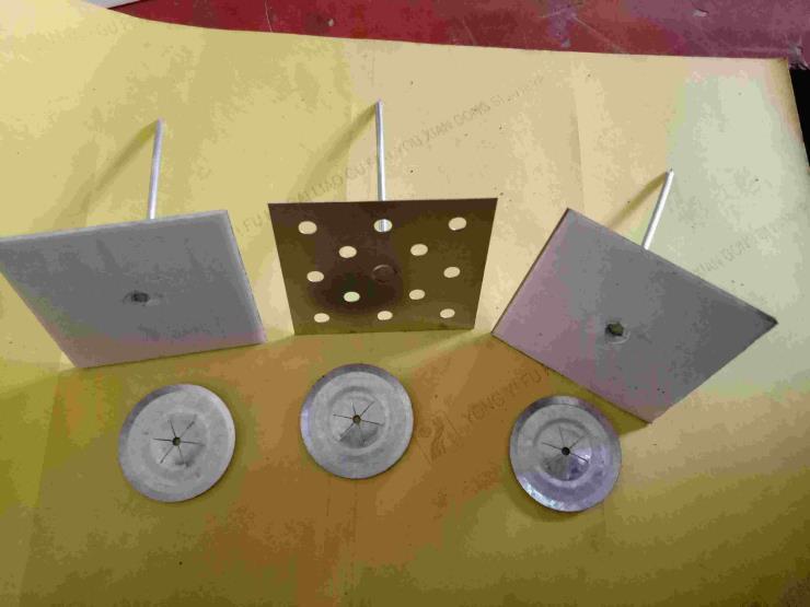 保温棉橡塑固定使用铝制保温钉 中央空调专用风管保温钉