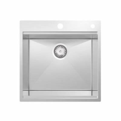 X304厨房手工水槽单盆不锈钢洗碗盆