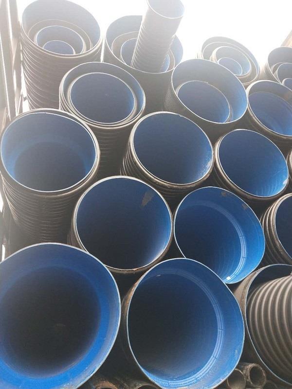 山西晋中国标和非标排水管双壁波纹管厂家现货
