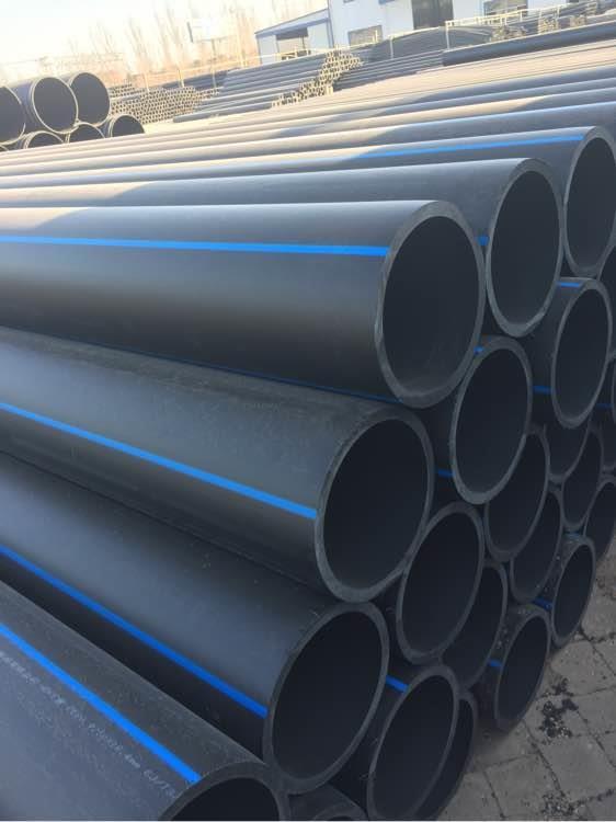 太原恒塑純原料PE自來水管200和300廠家直銷