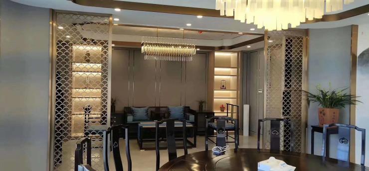 簡約金屬不銹鋼屏風客廳隔斷定制歡迎定制金屬制品