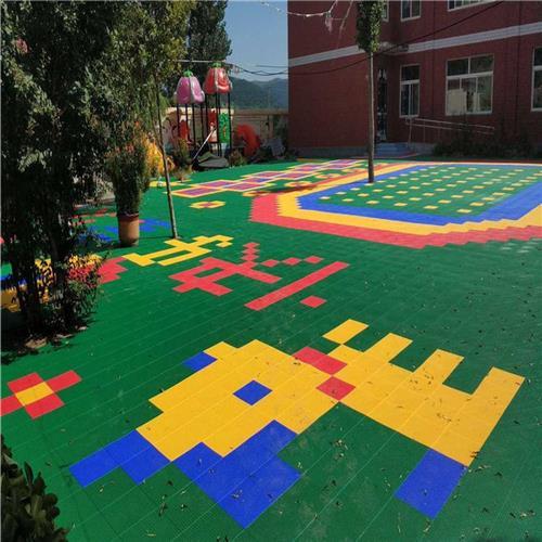 庆阳运动拼装地板产品