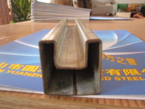 凹槽管厂家-50*50镀锌凹槽管厂