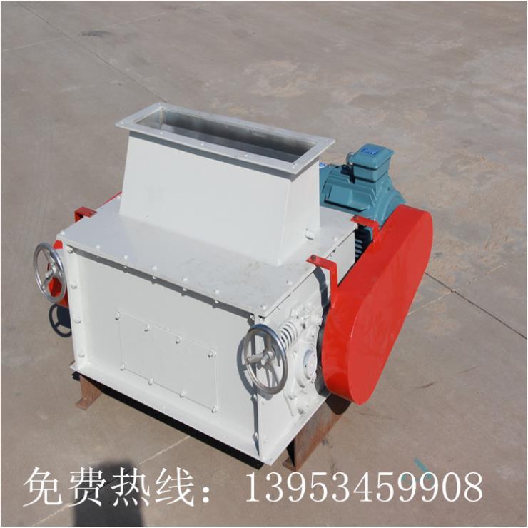 雙鶴機械免費試料高產能玉米,大豆,豆粕破碎機廠家直銷
