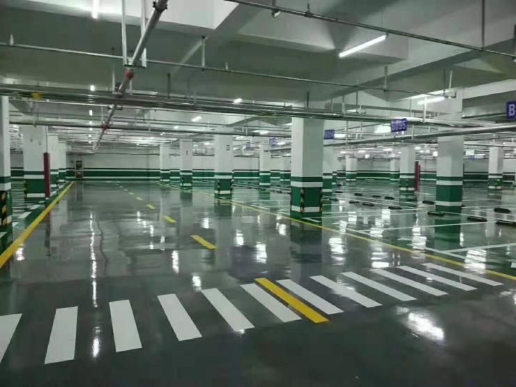 环氧地坪漆施工,厂房车间地坪漆,室内外停车场地坪漆