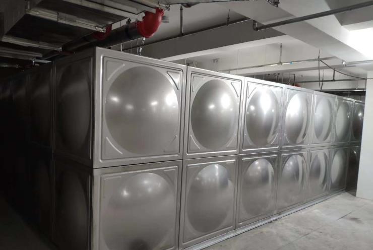 太阳能空气能热水采暖制冷工程不锈钢保温方型圆型水箱