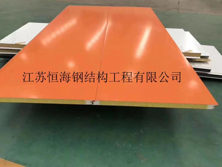 江西吉安聚氨酯巖棉夾芯板-阻燃防水-裝飾一體板