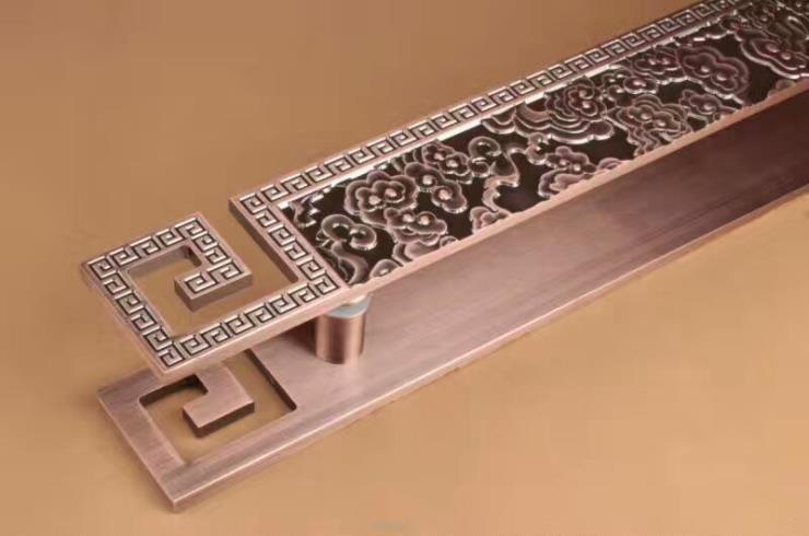 直纹古铜艺术拉手制作商 欢迎您的来电咨询门把手价格
