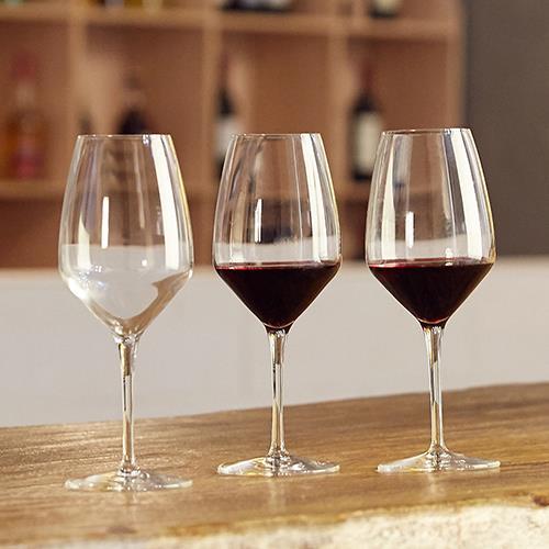 酒店葡萄酒杯批发意大利进口无铅水晶红酒杯批发供应