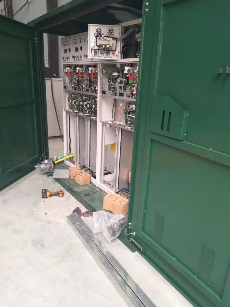 戶外開閉所12KV落地式電纜分支箱DFW