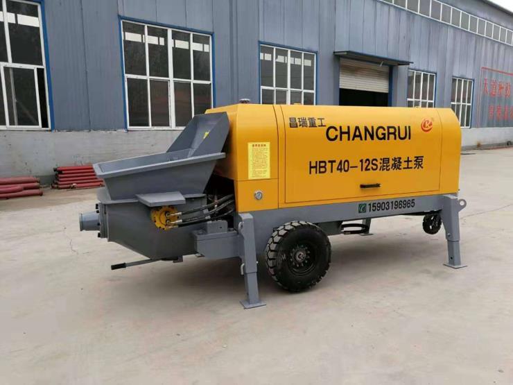 農村用細石混凝土輸送泵