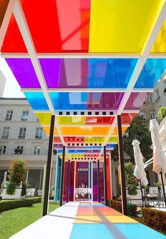 彩色玻璃定制创美