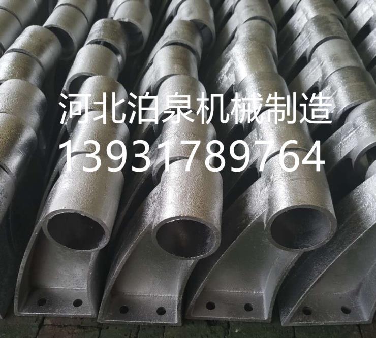 常规型号桥梁支架 桥梁铸铁支架300高350高80/83
