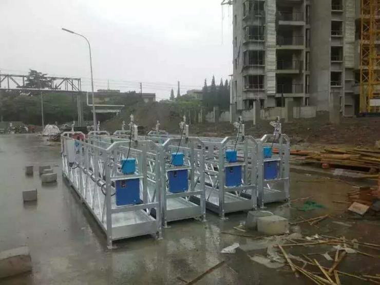 山东吊篮厂家专业生产热镀锌zlp630电动吊篮