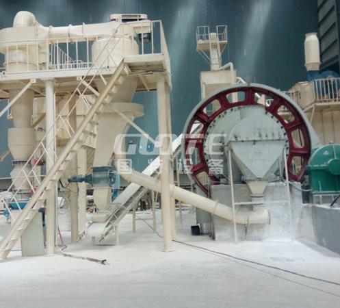 GMF系列石英.长石粉生产线自动化控制
