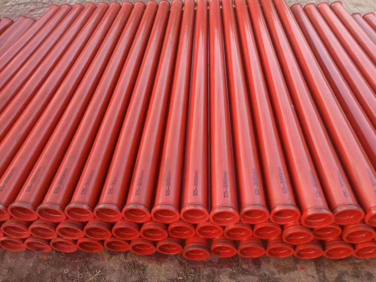 厂家直销125混凝土泵管 地泵管 天泵耐磨管