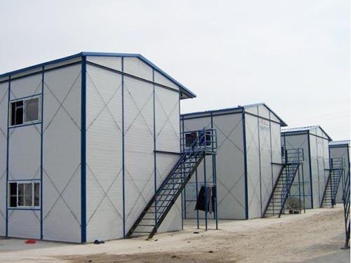 寶雞渭濱區一面坡單層活動房搭建寶雞彩鋼房廠家供應