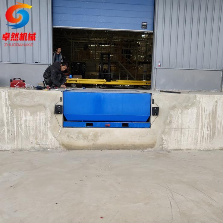 10噸15噸機械式固定登車橋