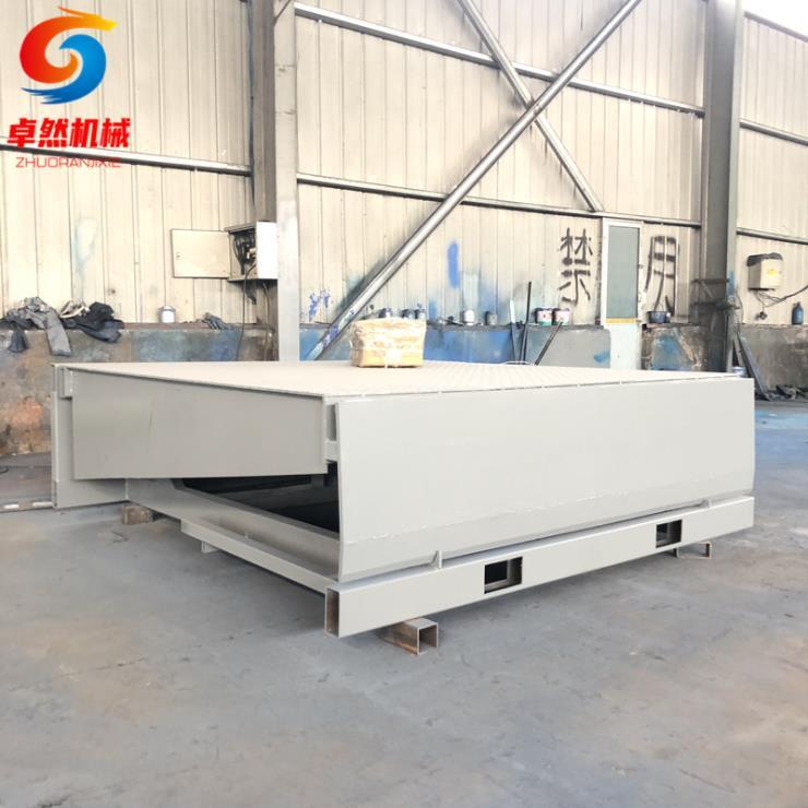 10噸20噸液壓集裝箱固定卸車平臺