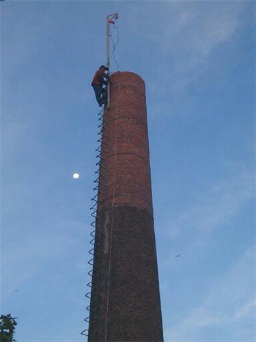 45米鍋爐煙囪拆除加高(施工價格)