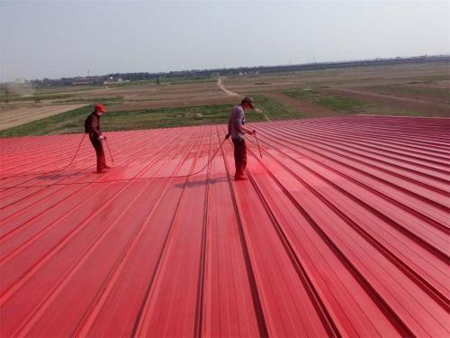屋面彩钢瓦除锈喷漆防腐大概多少钱一平米