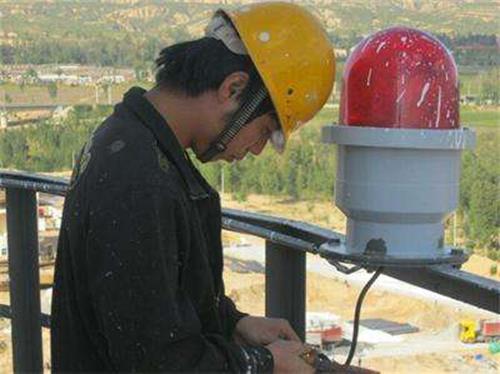 煙囪更換安裝航標燈費用多少