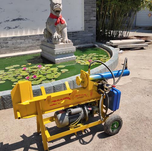 富顺县液压劈柴机使用视频