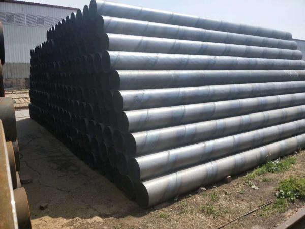 广饶县螺旋钢管大量供货