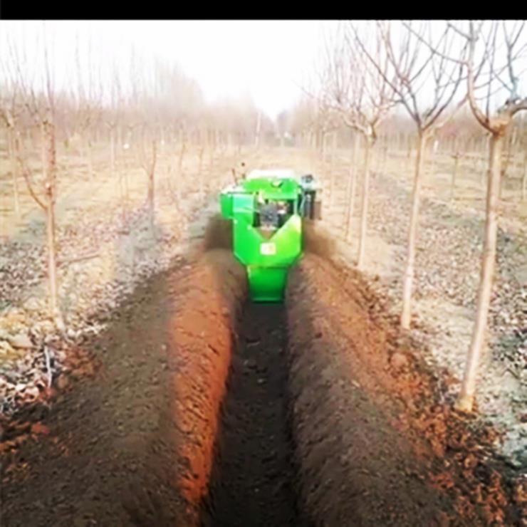 無錫多功能施肥機履帶開溝機安耕機械