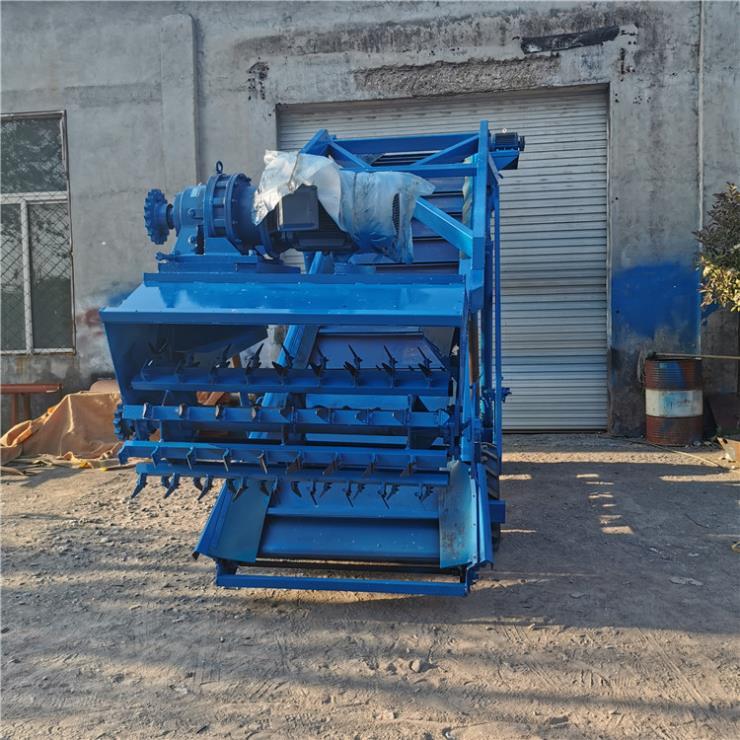 牛场饲料池高空挖草机 电动液压升降青贮取料机