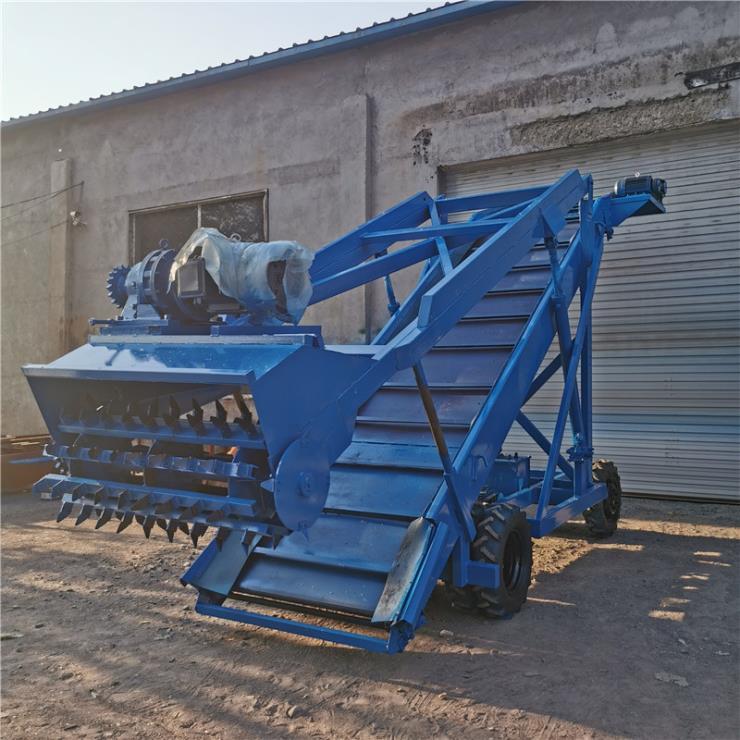 牧场滚筒取料机 双动力扒草机 电动青贮取料机