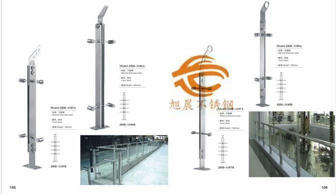 上海201不锈钢矩管立柱供应商