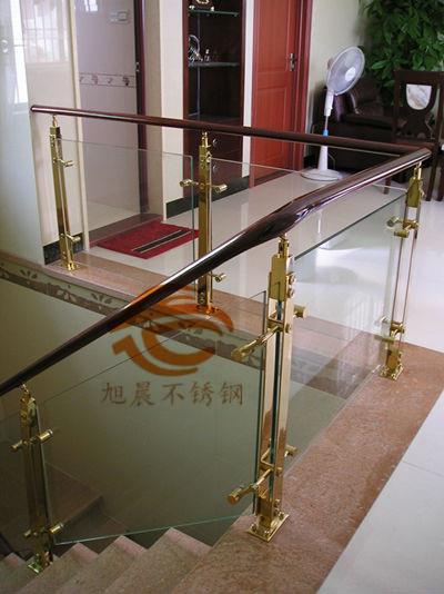 吉林德标316L不锈钢楼梯方管立柱规格