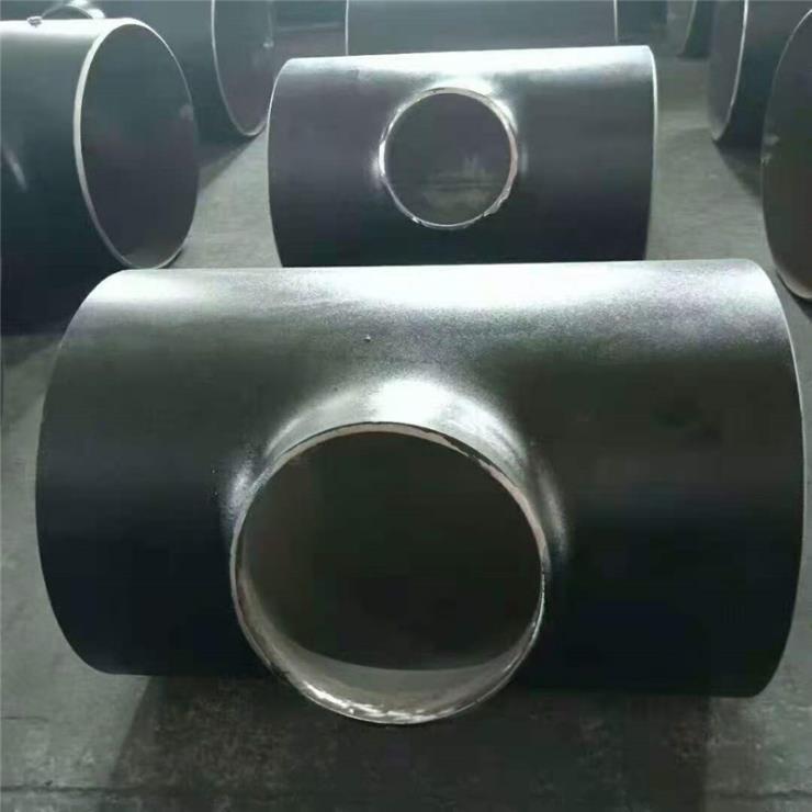 大量批发 碳钢无缝三通 焊接三通 斜三通 型号齐全