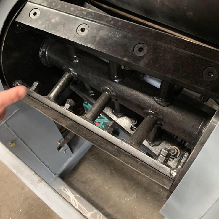 X质的记忆海绵切粒机沙发坐垫填充物加工机器批发价