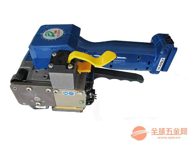 佛山電動式免扣PET打包工具,平洲PET塑鋼帶打包機