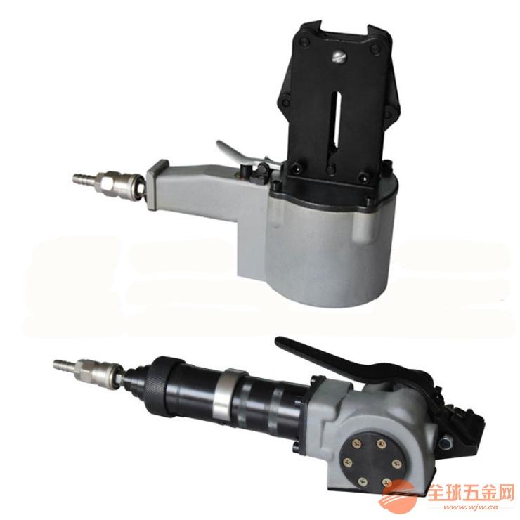 广东金属管材型材分体式气动钢带打包机/平洲钢带捆包机