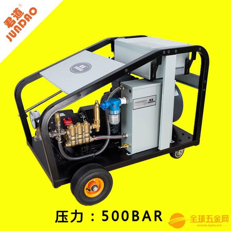船舶表面油漆清洗使用PU5015高压清洗机