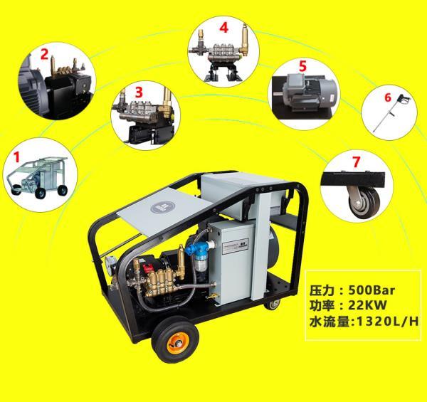 热交换器清洗使用高压冷水清洗机