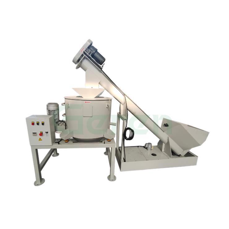 铁屑磨屑上料甩干脱油系统自动金属甩干脱油机