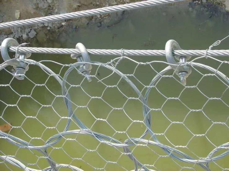 安陆矿山覆绿边坡防护网图片