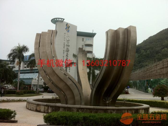 不锈钢白钢雕塑 湖南不锈钢雕塑厂家