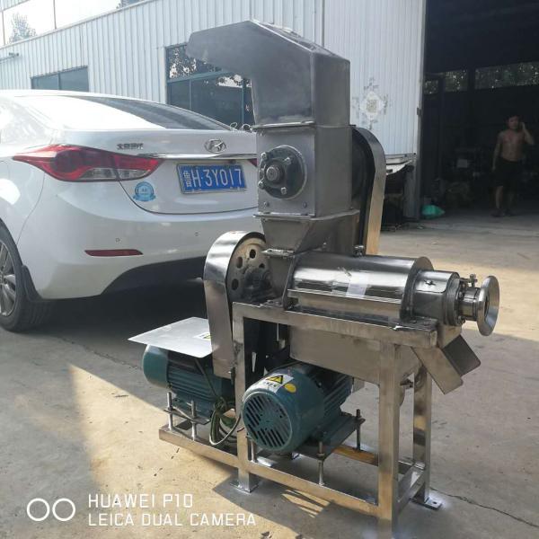 新闻 吕梁食品饮料厂用不锈钢榨汁机 厂家直销
