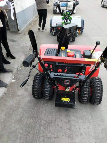 今日推荐 包头大马力15马力扫雪机 生产厂家