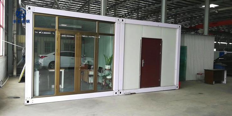唐山臨時搭建可回收拆卸集裝箱開平活動房