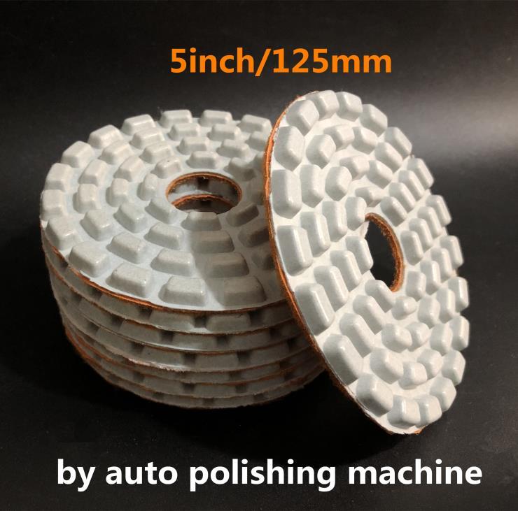125mm水磨片 5寸自动磨机水磨片 侧抛机专用磨片