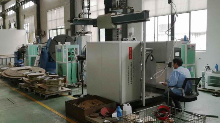 自動化閥門粉末等離子堆焊機設備
