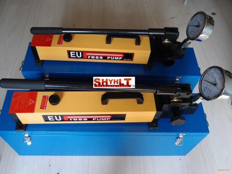 上海进口EUPRESS手动试压泵价格 手动试压泵规格