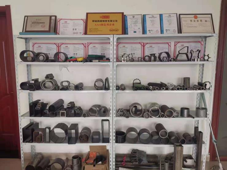 山东荣业冷拔异型钢管生产厂家规格型号齐全出厂价