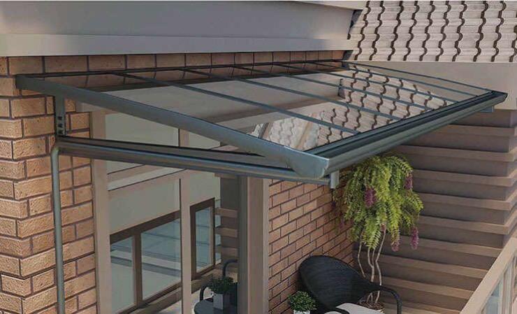 工厂直销铝合金系统门窗雨阳棚阳光房